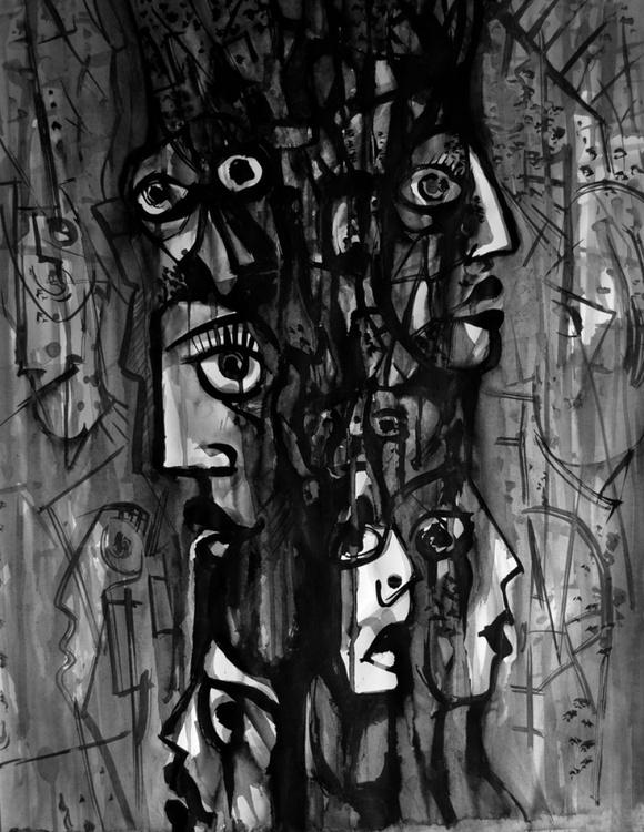 Mayan Faces - Image 0