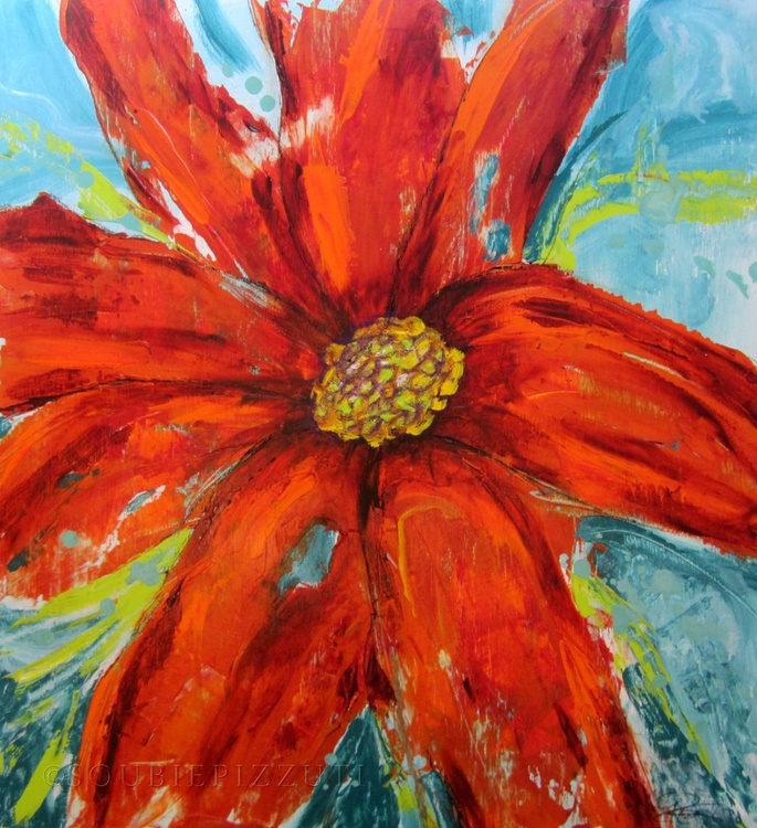 Orange Flower - Image 0