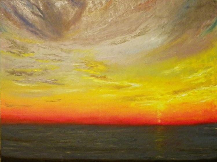 Ocean view, 80x60 - Image 0