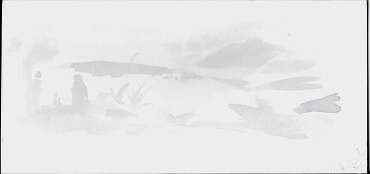 Seascape 9, 27x13 cm - Image 0
