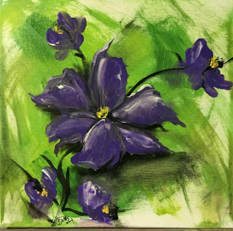 Purple Flowers#1 - Image 0