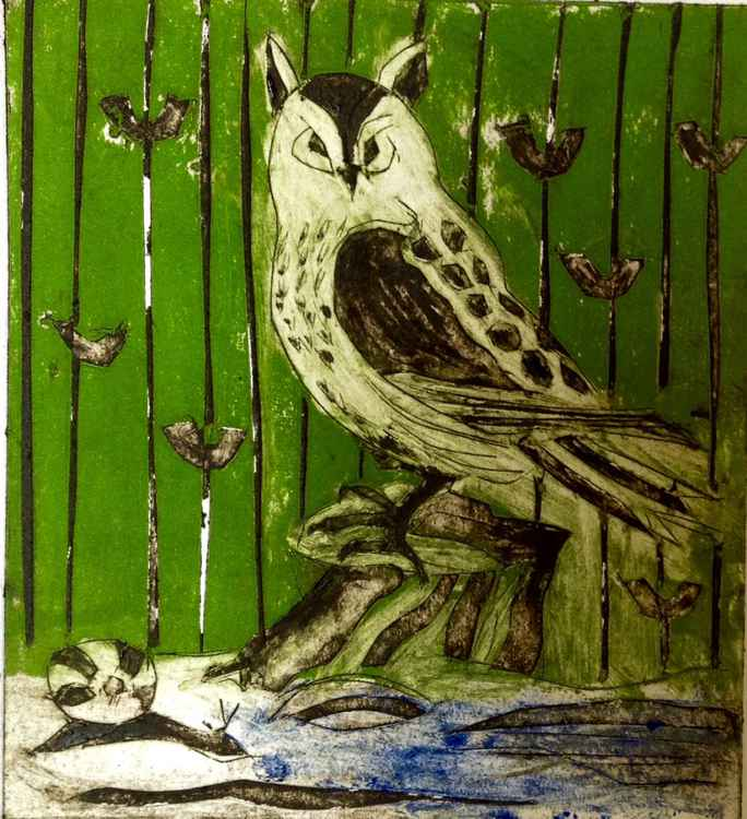 The Owl and the Snail in Colour