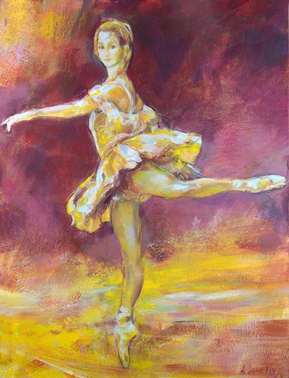 Ballerina in yellow - Image 0