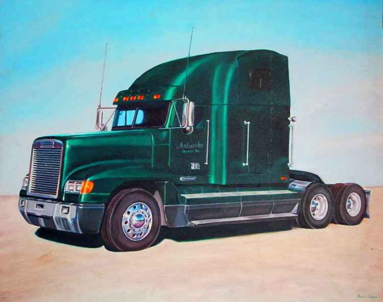 Freightliner : A Study in Metal and Chrome