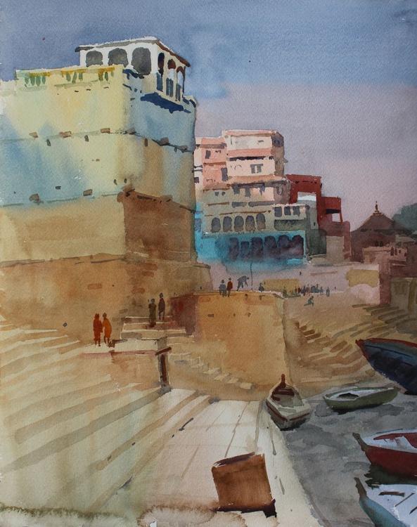 Banaras Ghat 2 - Image 0