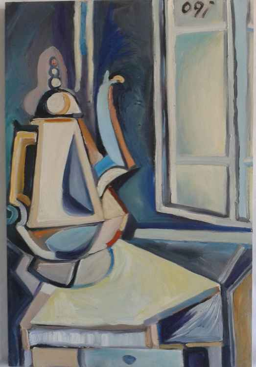 Still Life in Blue