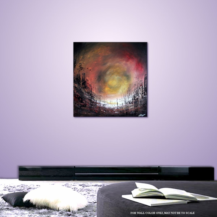 Obsessions - Original Acrylic Painting 50cm x 50 cm - Image 0