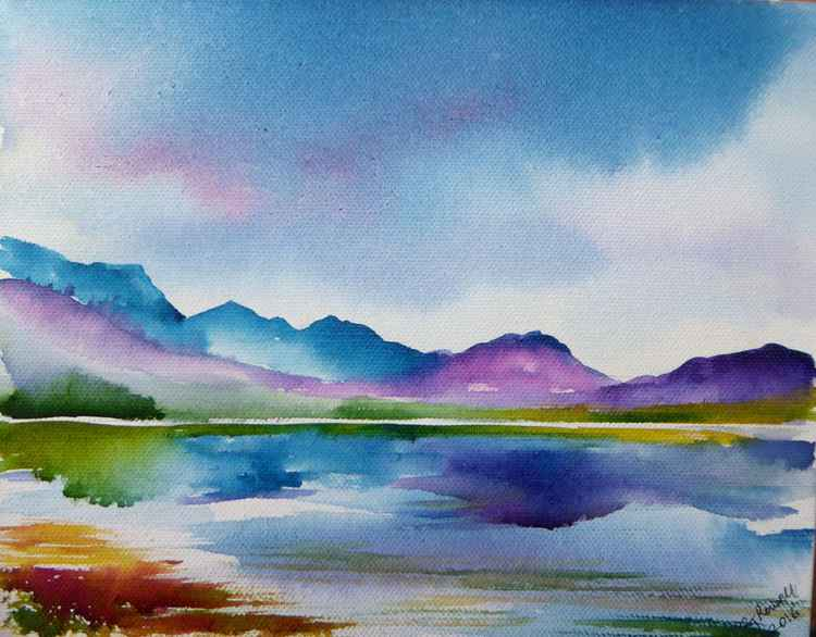 Colourful Highland Reflections