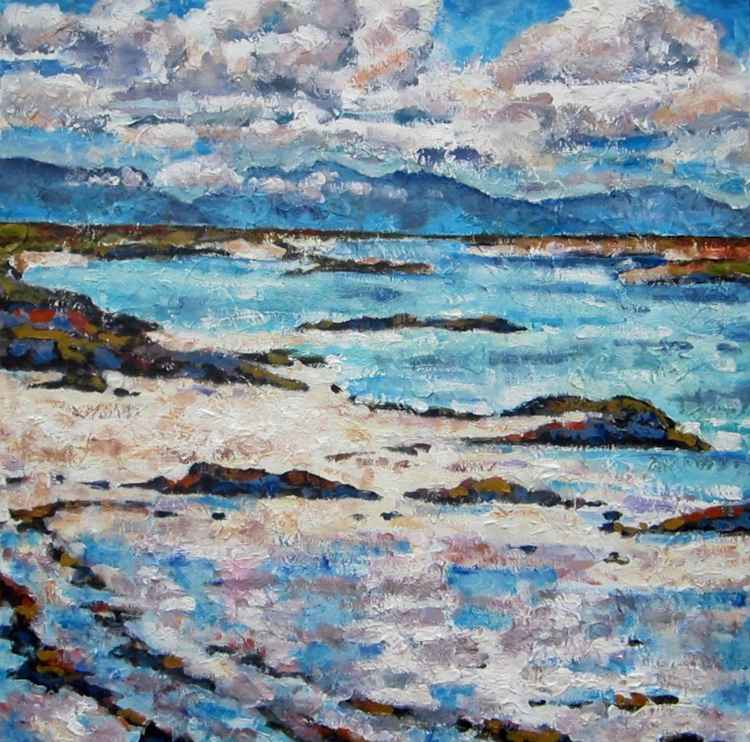 Beach on Skye -