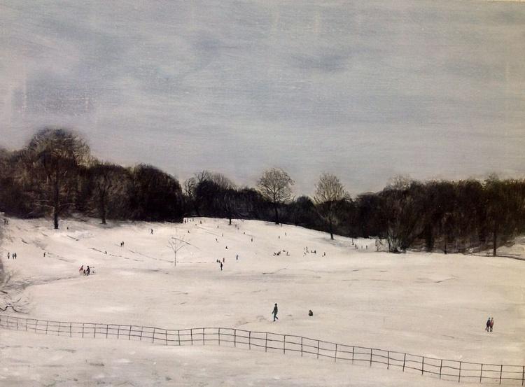 Hampstead Heath In Winter  - Image 0