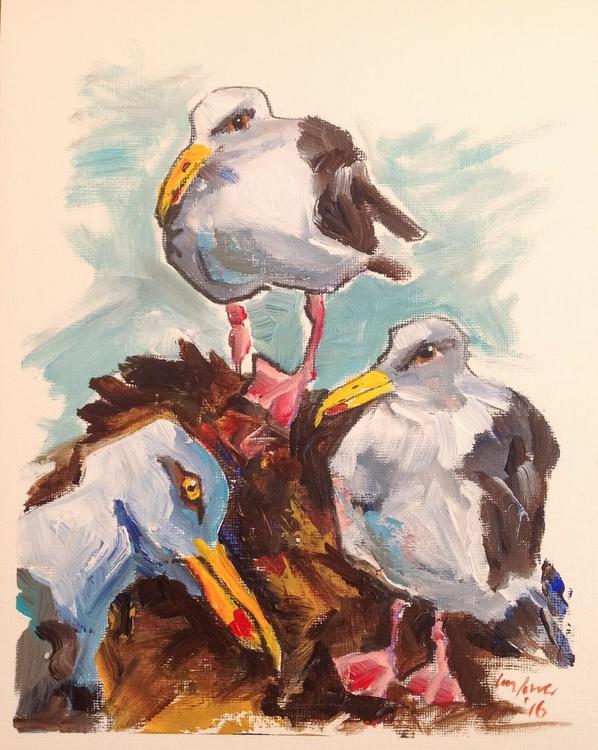 Tricky Trio - Daily Bird #66 - Image 0