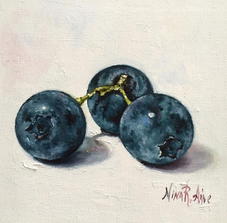 Three Blueberries - Image 0
