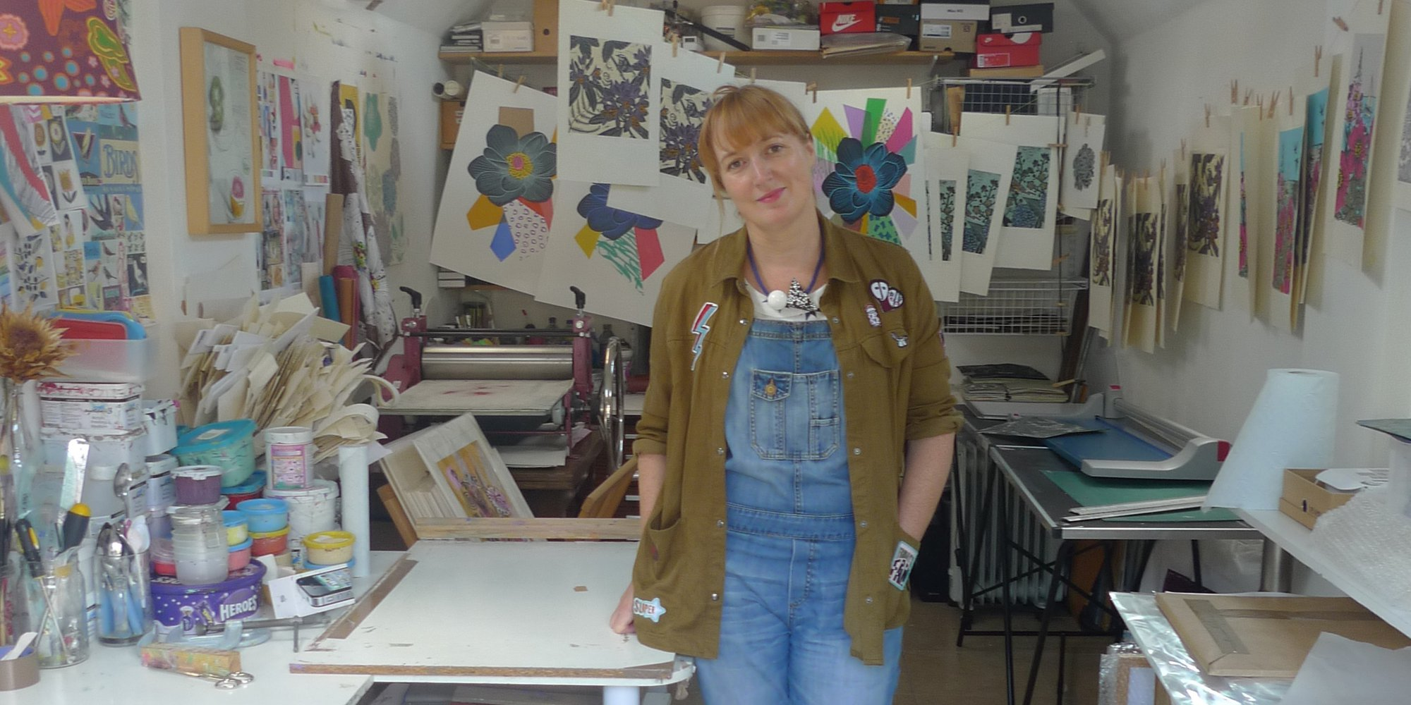 To celebrate the launch of the Cambridge Original Printmakers Biennale we speak to Kate Heiss - printmaker and organiser of the event - about all things print!