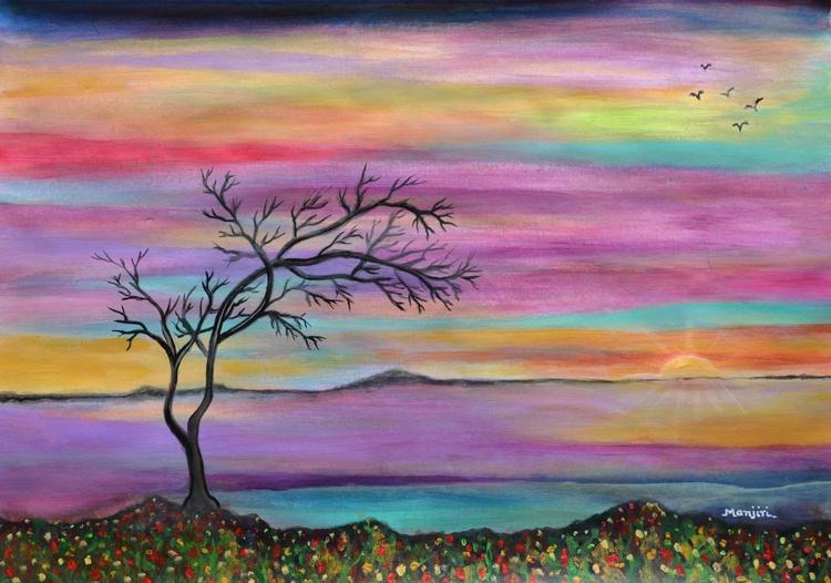 Serene Sunset - Image 0