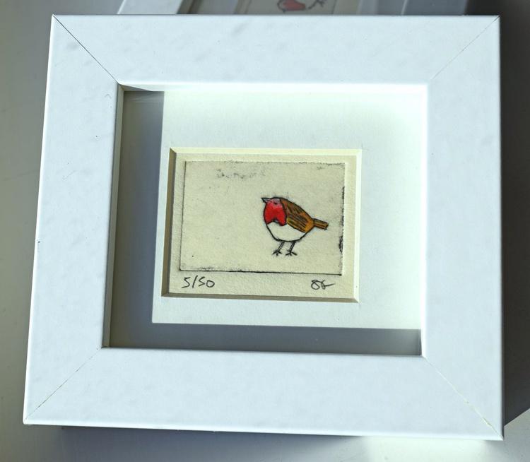 Robin - mini framed print - Image 0
