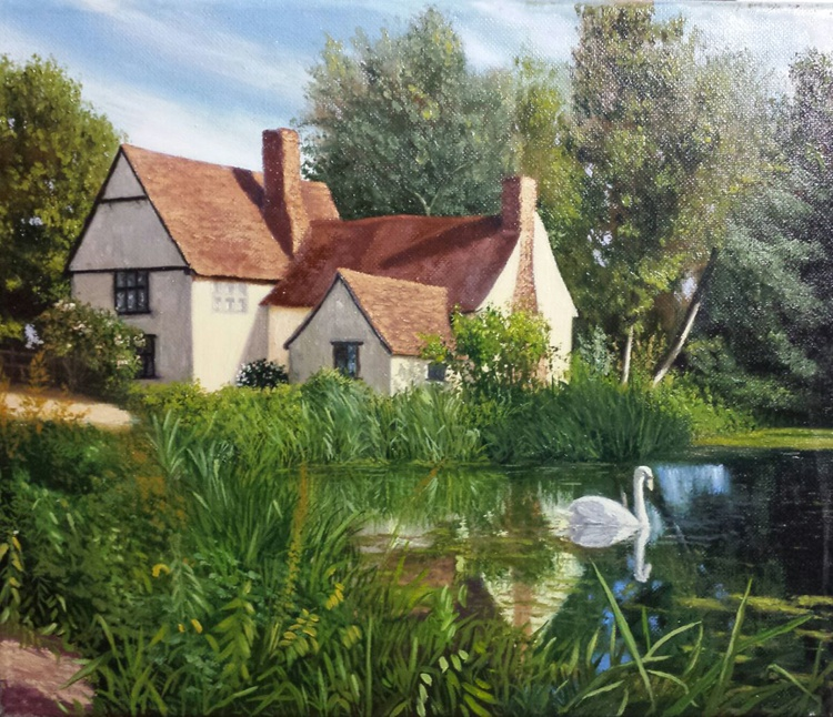 Willy Lott's Cottage, Suffolk, England - Image 0