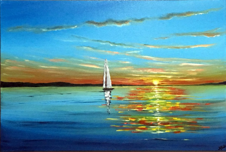 Sailing Into The Sunset - Image 0