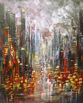 """Skyscraper Spirits"" by Tatiana Iliina"