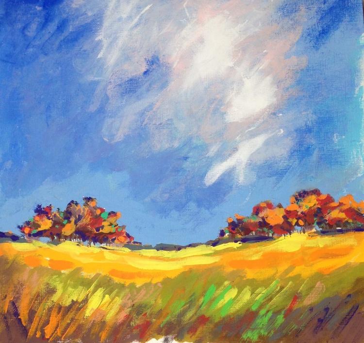 Farmland on a fall day - Image 0