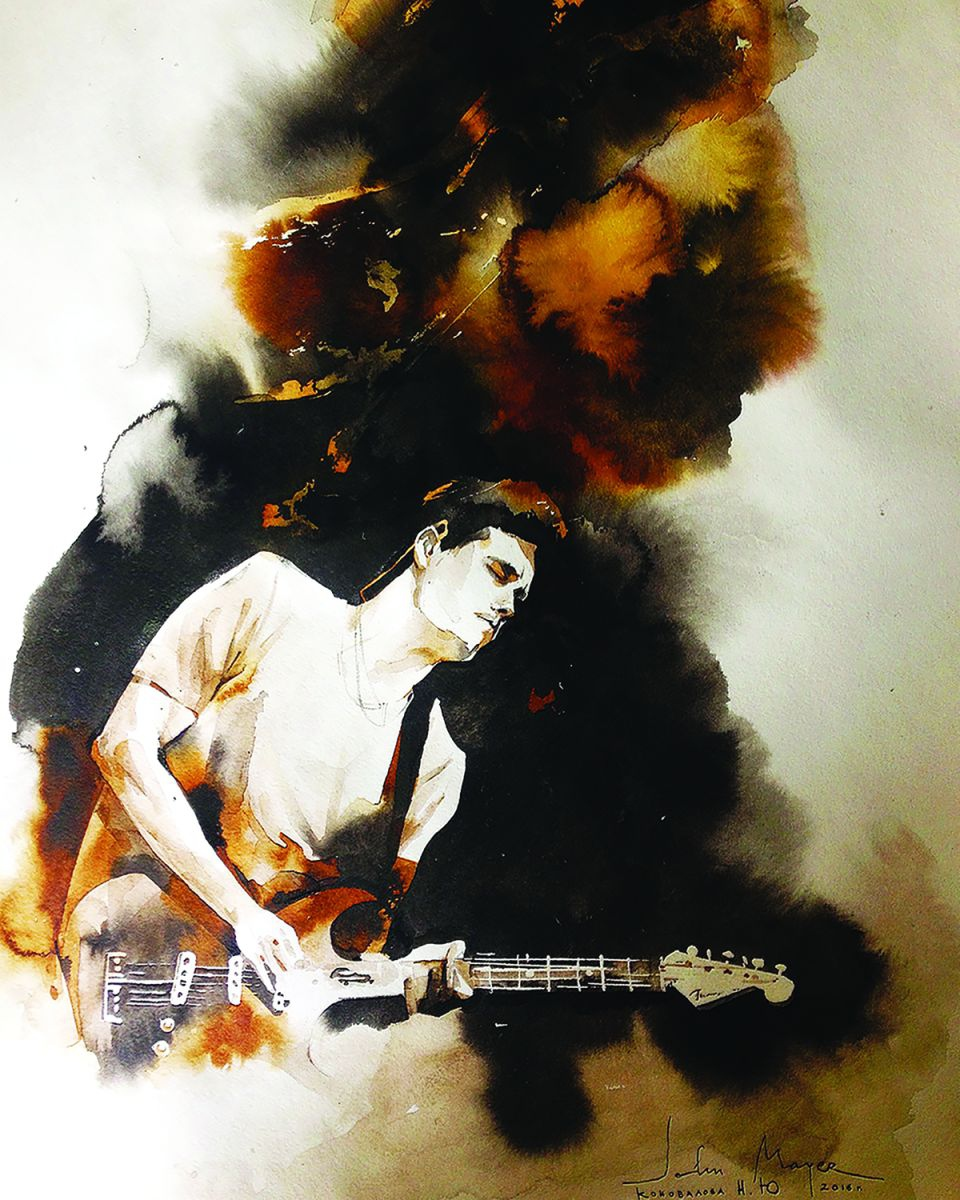 John Mayer Cool Painting
