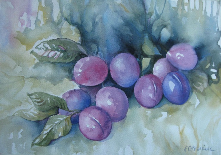 Purple plums - Image 0