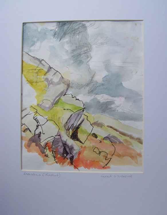 Edge of Snowdonia National Park colour study -