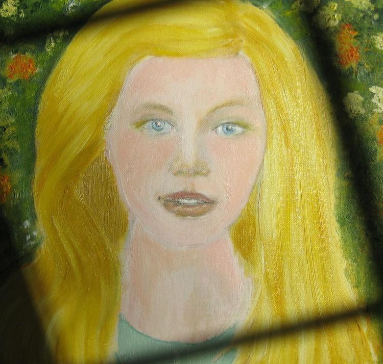 Golden Haired Girl - Image 0