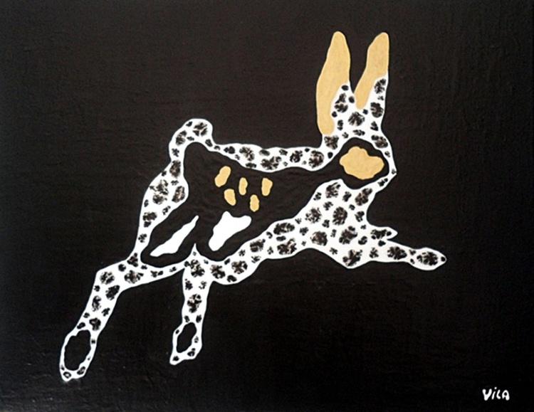 Running hare - Image 0