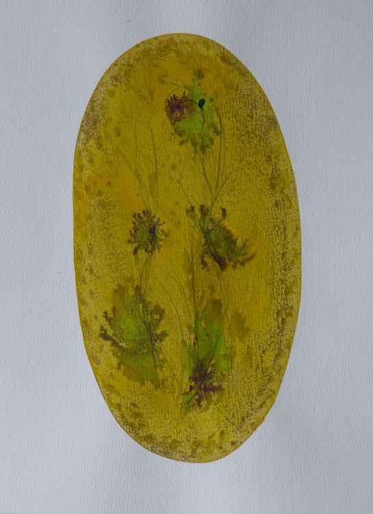 Floral Vignette: Wild Flowers, 31x41 cm -
