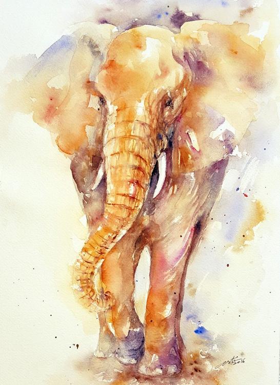 Gentle George_ Elephant - Image 0