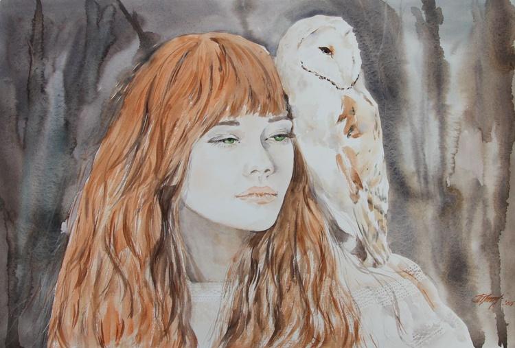 Autumn girl (Alyona #3) - Image 0