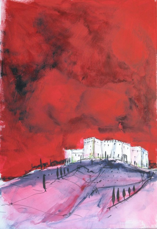Lindos Red | Work No. 2008.15 - Image 0