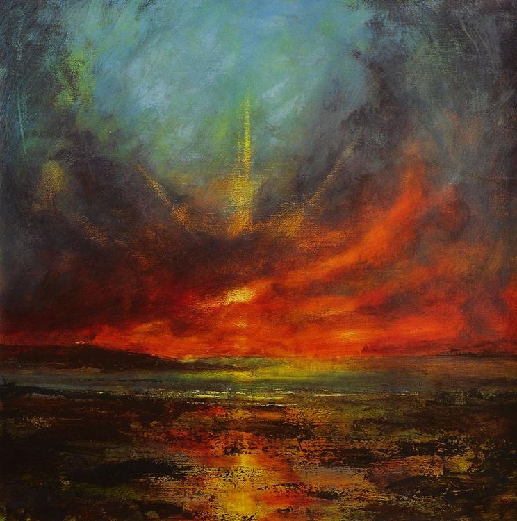 A falling light - Robin Hoods Bay, Yorkshire Coast - Image 0