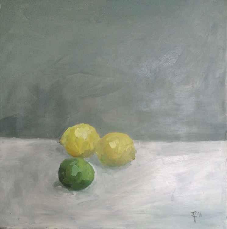 still life with citrus
