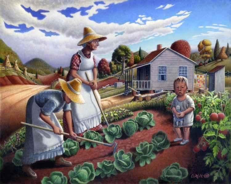 The Family Garden -