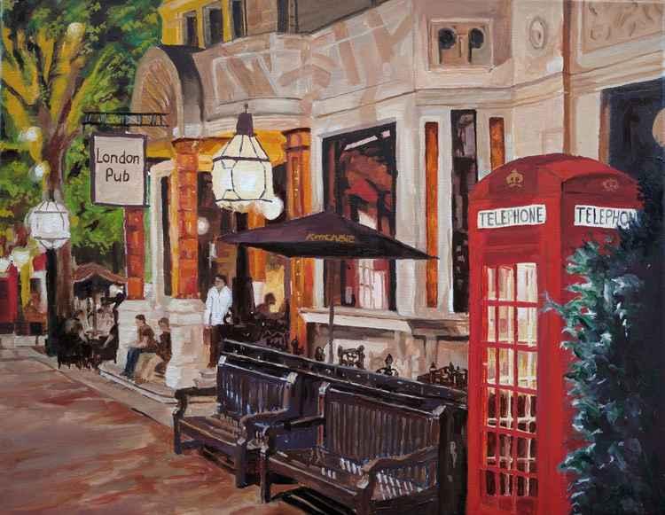 London Pub -