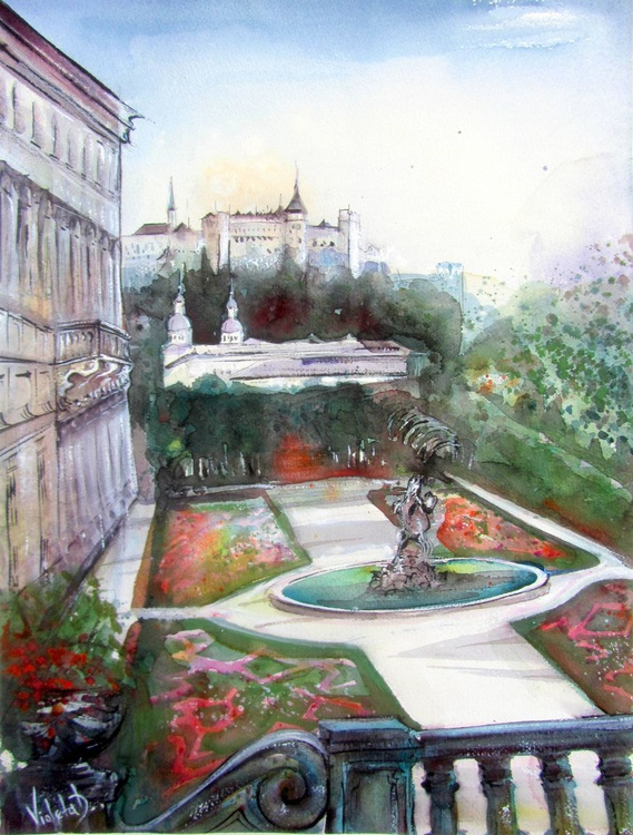 The Mirabell Palace Garden - Image 0