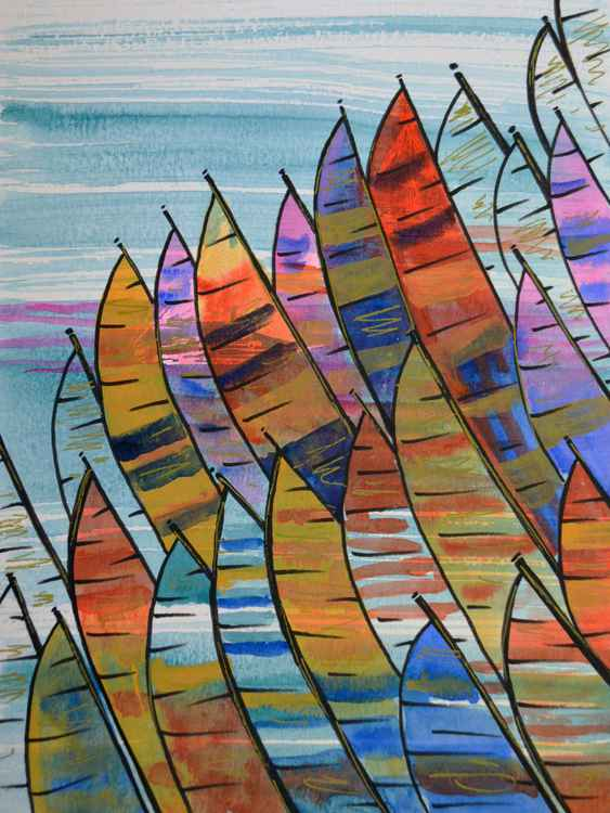 Colorful Sails