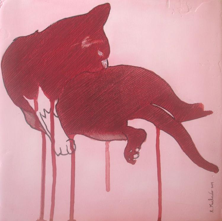 Cat Carved IV - Image 0