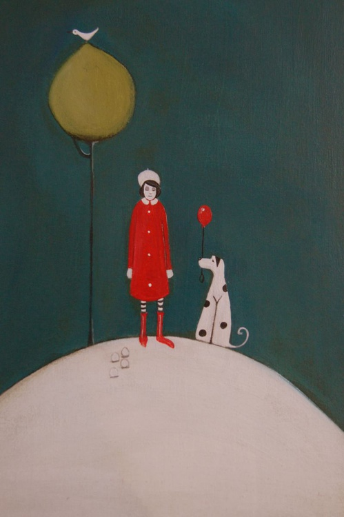 Molly and the Balloon.. - Image 0