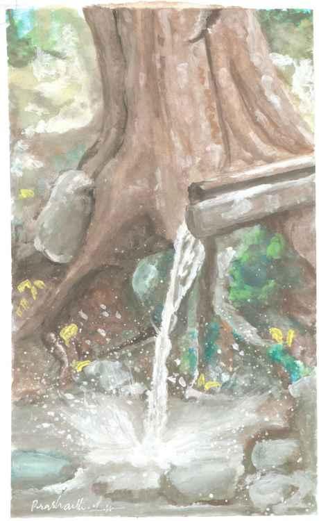 water flow -