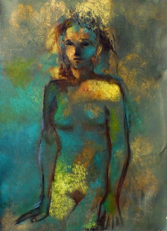 The Woodland Fairy, oil on canvas, 73x54 cm - Image 0