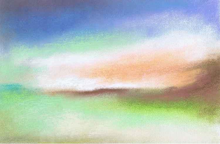 Morning Light over Salisbury Plain -