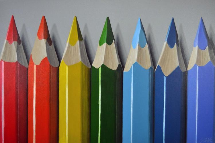 Seven Pencils - Image 0