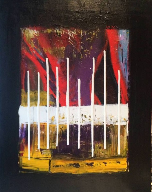 Abstract Art , Acrylic Painting - Image 0