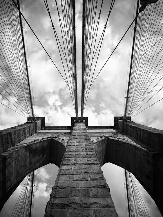 Brooklyn Bridge #1.  New York, NY -