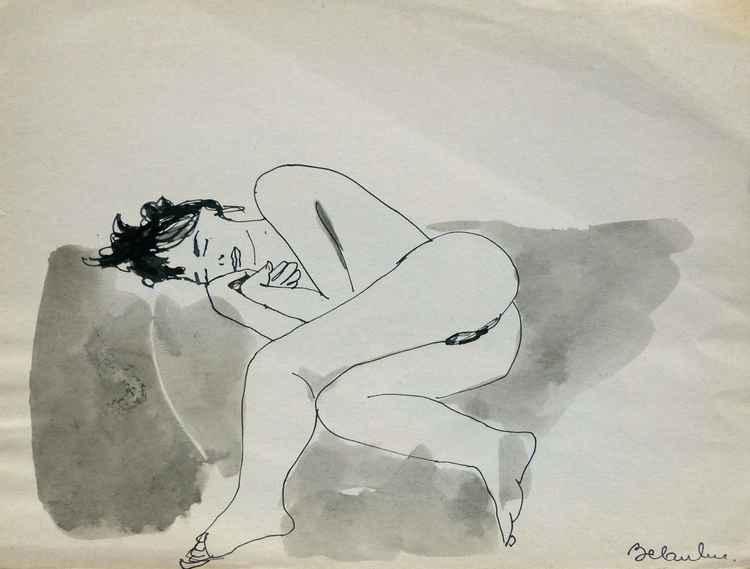Sexy nude 2, 24x32 cm