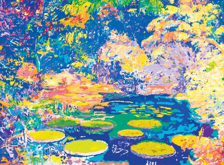 """Joy of Nature """"Blue - Lemon Yellow"""" - Image 0"""