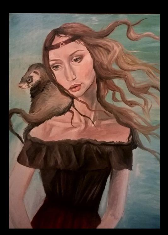 Ferret girl - Image 0