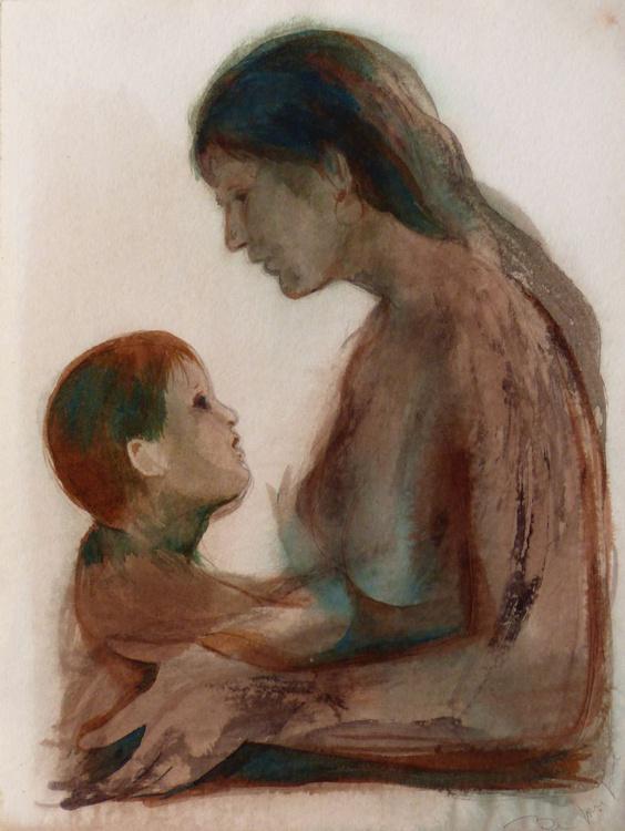 Maternity 1, 36x48 cm - Image 0